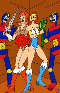 Teela and Sybiline