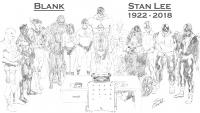 Blank - Stan Lee tribute by Jimmy Compton