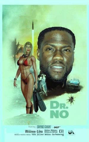 DDJJ: 'Dr No' Kevin Hart as James Bond