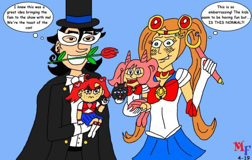 inSecurity Sailor Moon family
