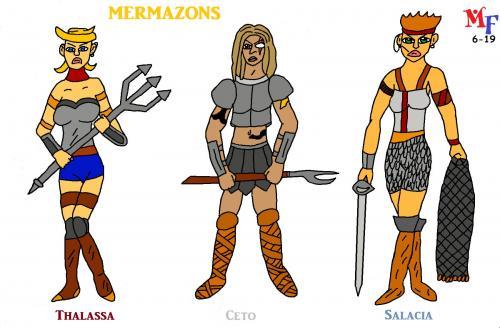 Mermazons