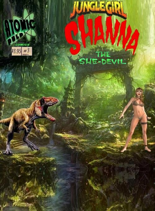 Junglegirl Shanna The She Devil #3