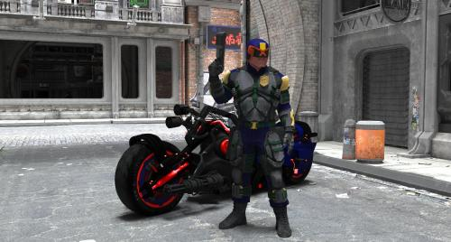 Dredd on the streets