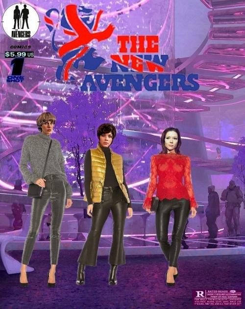 The New Avengers: one Shot 'Girls Night Out'