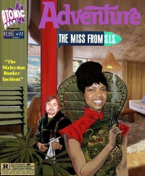 Adventure: The Miss From S.I.S. # 11