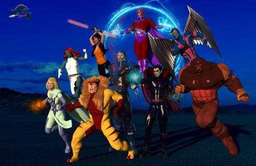 X-Men good v EVIL 2