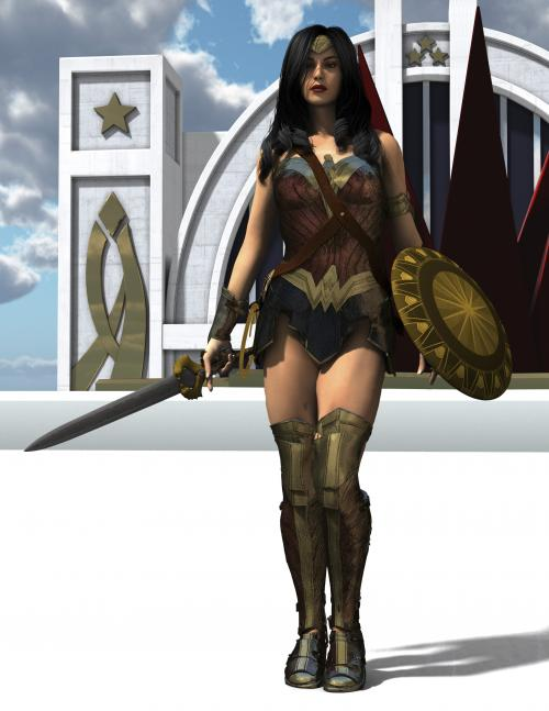 Wonder Woman Gal vers