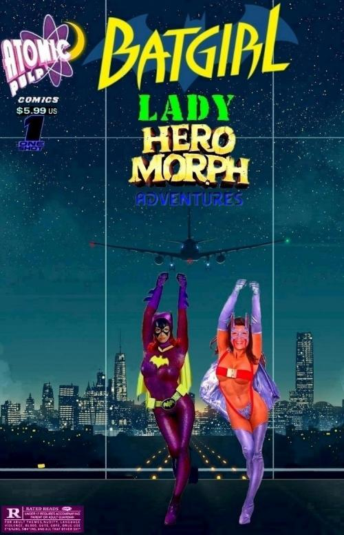 Batgirl LadyHeromorph Adventures Fist-Pump One Shot