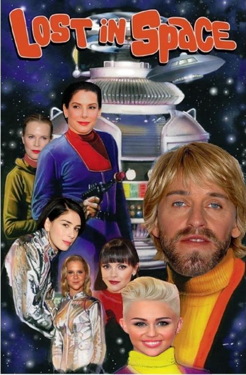 TV Series Total Female Recast 'Lost in Space'