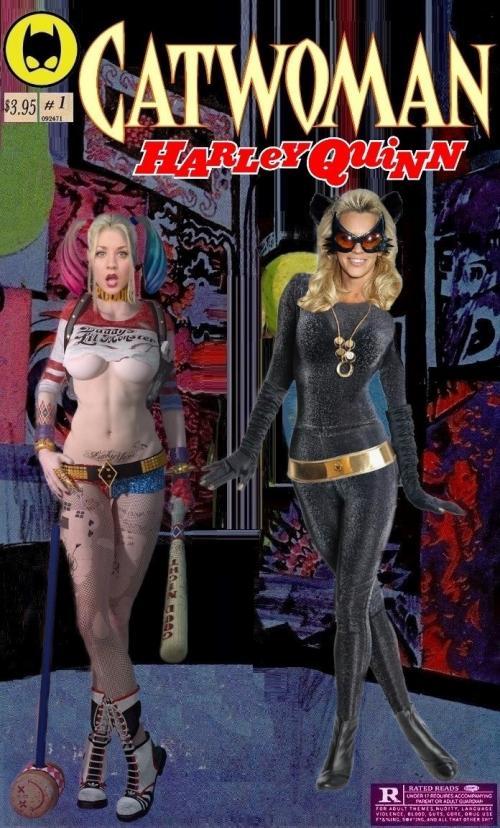 Catwoman Harley Quinn Team-up #1