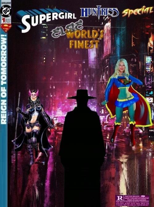 Supergirl Hunteress Else-Worlds Finest #1