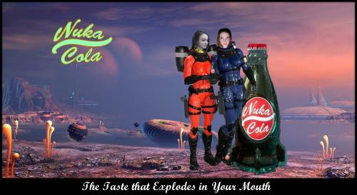 'Nuka Cola' out of this World Poster