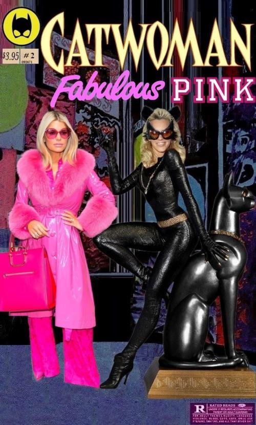Catwoman & Fabulous Pink