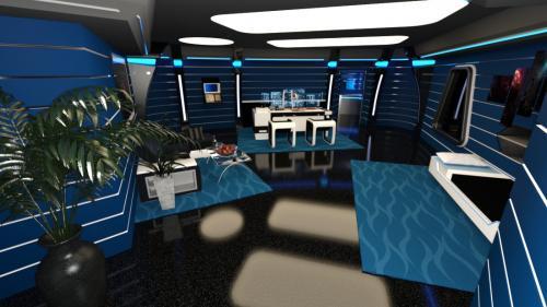 Phantasm Captain's office iRay