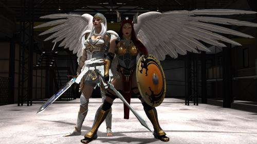 White Valkyrie and Viking Queen Ragnild