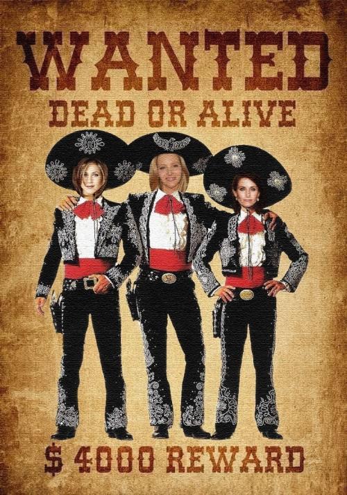 Wanted:The Three Amigos