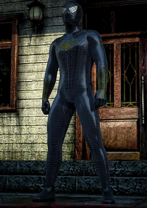 Spiderman obsidian costume