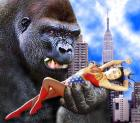 Wonder Woman vs. King Kong by Sleepenemy