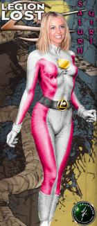 Saturn Girl by M4