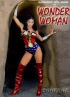 CZJ as Wonder Woman