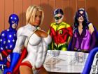 Power Girl and the JSA Super Squad
