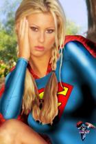 supergirl chillin!