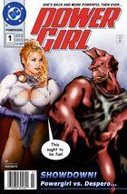 "Powergirl issue #1 - ""PG vs. Despero"""