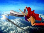 Supergirl Flies To The Rescue!