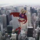 Supergirl Over New York