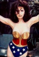 Dana Delaney as Wonder Woman