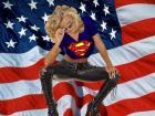 Biker Supergirl