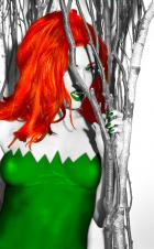 A Bit of Color (Aimee Sweet as Poison Ivy)