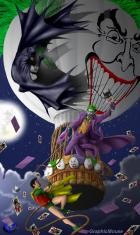 HM/C2F Crossover: A Knight over Gotham by Winterhawk and GraphicMouse