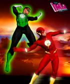 """""""The Flash-Green Lantern"""" by The iMiJ Factory"""