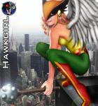 Hawkgirl by SilverFangs