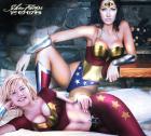 Wonder Woman & Wonder Girl - by SilverFangs