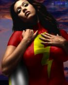 Mary Marvel (30 manips in 30 days part 21) By Darkblade
