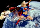 Supergirl saving the World...