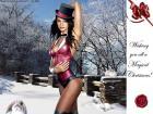 Zatanna - wishing you Magical X-mas! (by DM711)