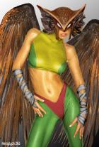 Hawkgirl by Heroglyph