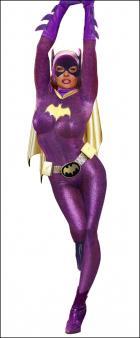 BG in classic 60's costume