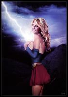 Shocking Supergirl