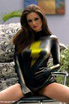 Mary Marvel Black by Heroglyph
