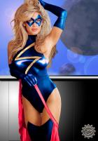 Ms. Marvel by Optical Intruder