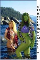 She Hulk & Nomorita