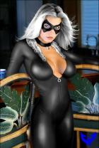 Black cat By Winterhawk