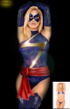Ms Marvel  by Batmic