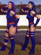 Extreme Makeover: Psylocke Cosplay Edition