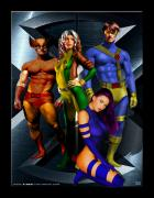 x-men by batmic