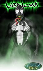 Eddie Brock as Venom w/ Mask